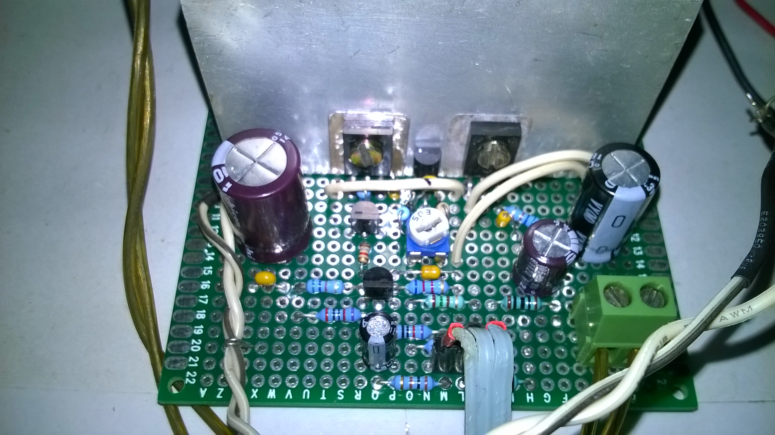 22w Stereo Amplifier Circuit And Explanation Electronic Circuits