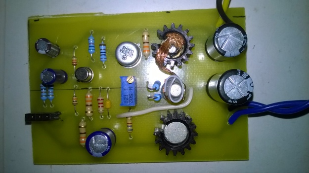 BD139 BD140 audio amplifier circuit