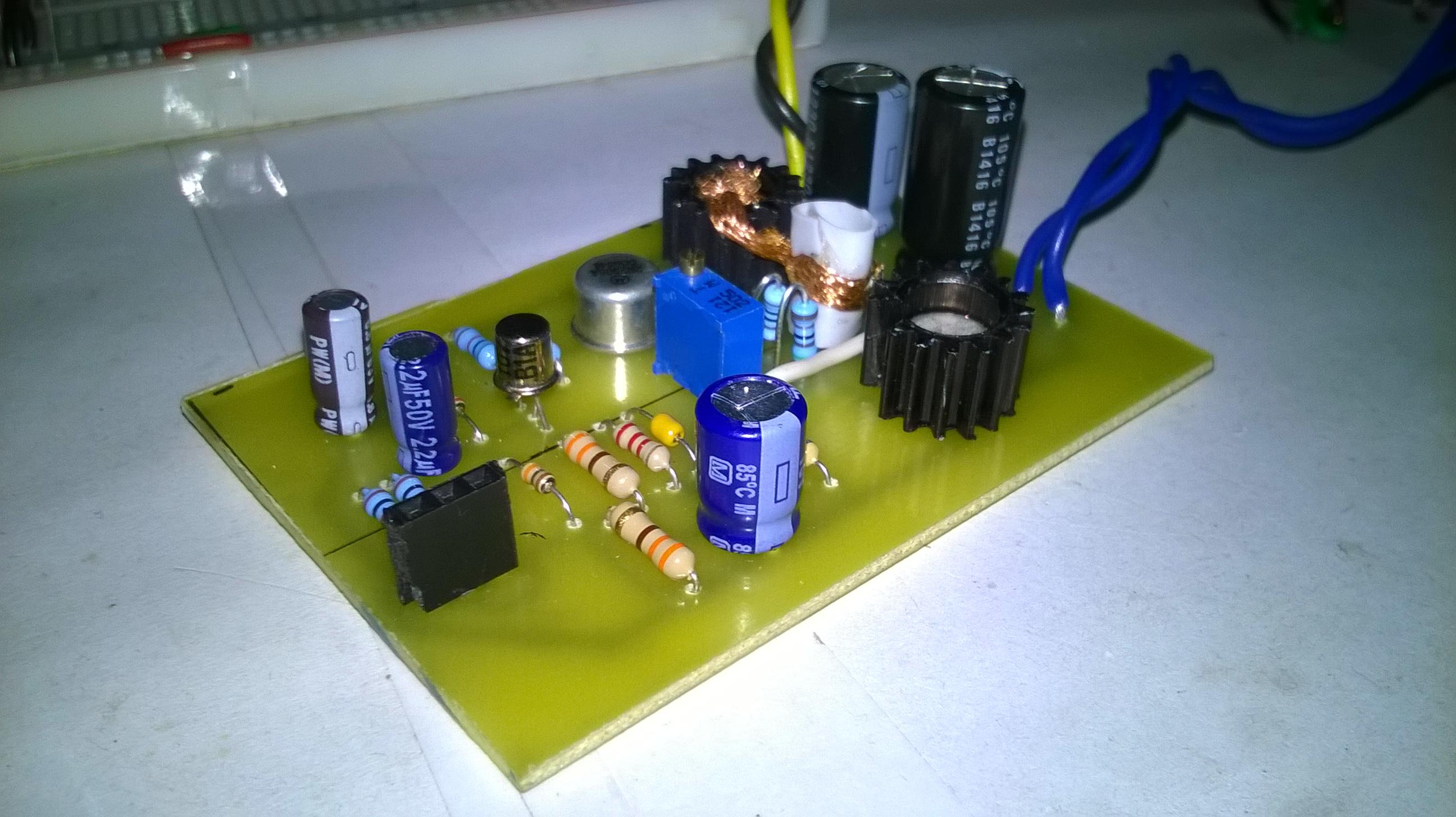 Bd139 Bd140 Audio Amplifier Electronics Robots Single Chip Preamplifier Lm 358 Circuit