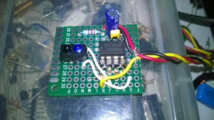 IR sensor module circuit
