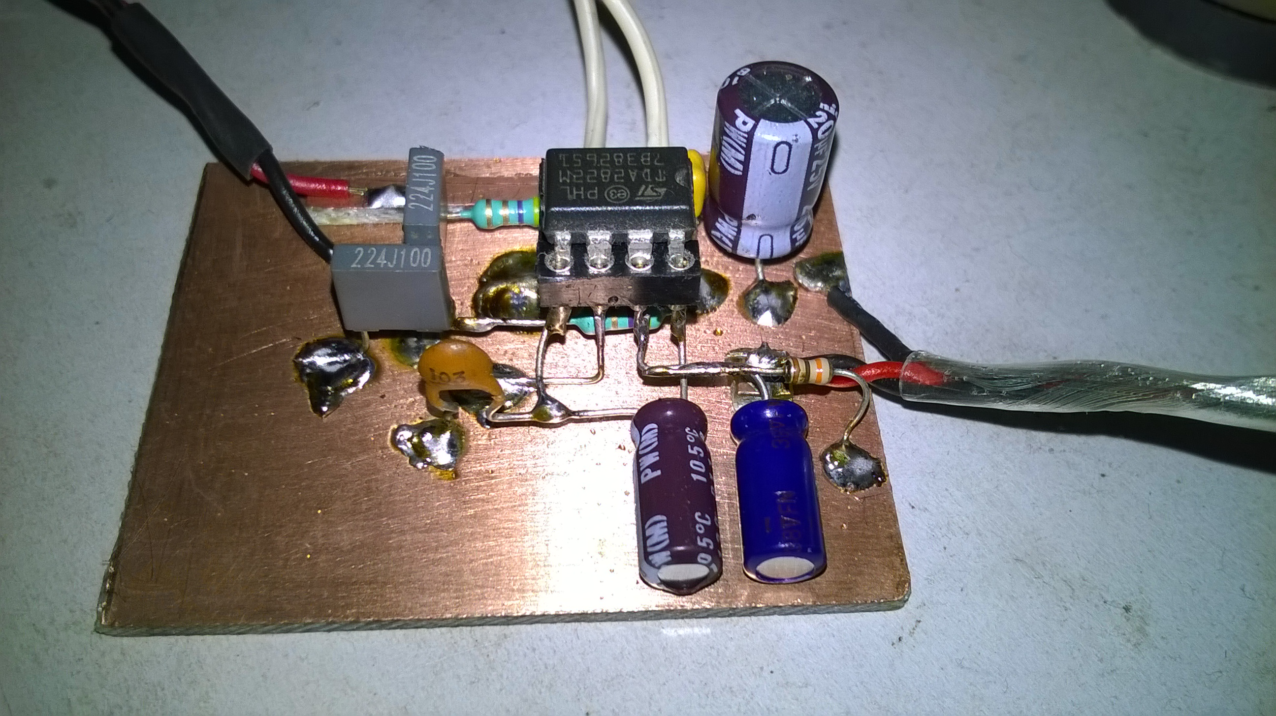 Electronics Robots Single Chip Audio Preamplifier Lm 358