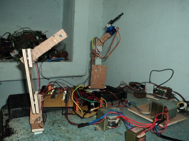 master slave robot arm